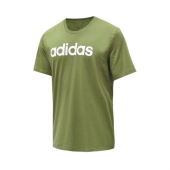 Adidas Essentials Linear Men's Tee - Green