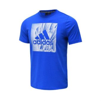 Adidas Must Haves Box Tee Kids Clothing - Blue