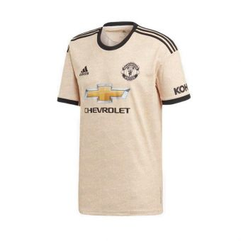 Adidas Manchester United Away Men's Soccer Jersey - Natural