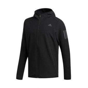 Adidas Own The Run Men's Running Jacket - Black