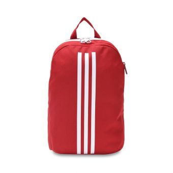 Adidas Classic 3 Stripes Kids Backpack - Red
