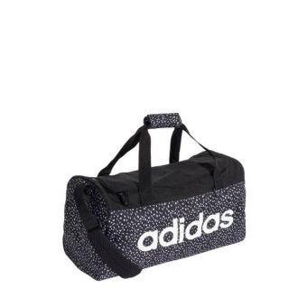 Adidas Linear Unisex Duffel Bag - Black