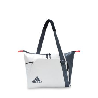 Adidas VS3 Shoulder Badminton Unisex Bag  - White