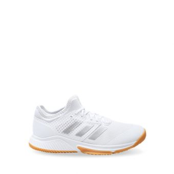 Adidas Court Team Bounce Women's Indoor Shoes - White