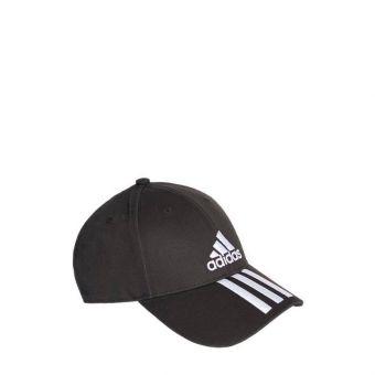 Adidas Six Panel Classic 3 Stripes Unisex Cap - Black