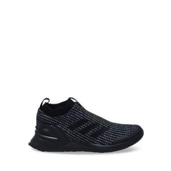 Adidas Rapidarun Knit Kids Running Shoes - Black Grey J