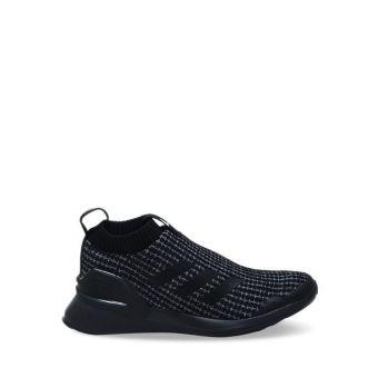 Adidas Rapidarun Knit Kids Running Shoes - Black Grey C