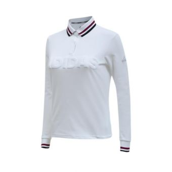 Adidas Golf Long Sleeves Women's Polo - White