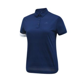 Adidas Golf Short Sleeve Women's Polo - Navy