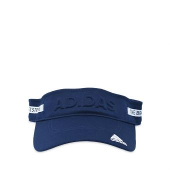 Adidas Golf  WS Tape Design Visor - Navy