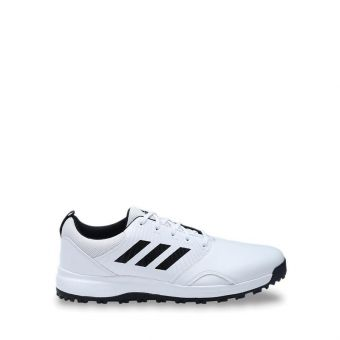 Adidas Golf CP Traxion SL Men's Golf Shoes - White/Black