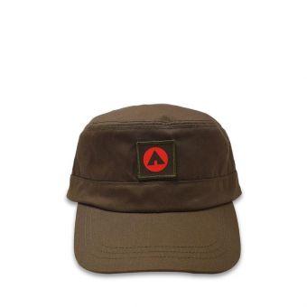 Airwalk Unisex Riley Military Cap - Olive