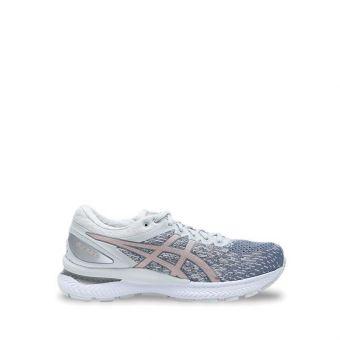 Asics GEL-NIMBUS 22 KNIT Women's Trail Running Shoes - Sheet Rock/Rose Gold