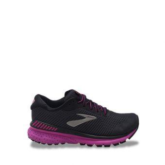 Brooks Adrenaline GTS 20 Women's Running Shoes - Ebony/Black