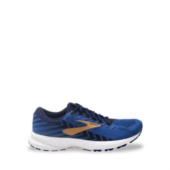Brooks Launch 6 Men's Running Shoes - Peacoat/Blue/Gold
