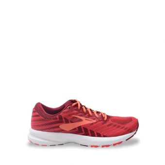 Brooks Launch 6 Women's Running Shoes - Red/Tea Berry/Coral