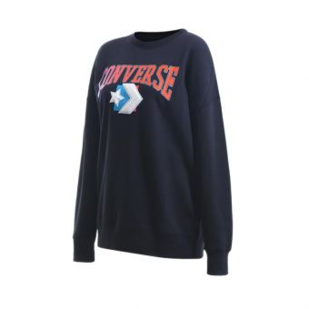 Converse Warmth Pack OS Crew Women's Casual Clothing - Black