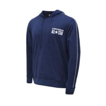 Converse All Star Hoodie Men's Casual Clothing - Obsidian