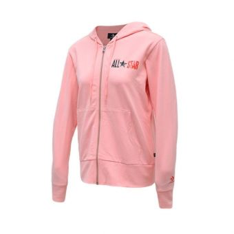 Converse All Star Hoodie Women's Casual Clothing - Coral