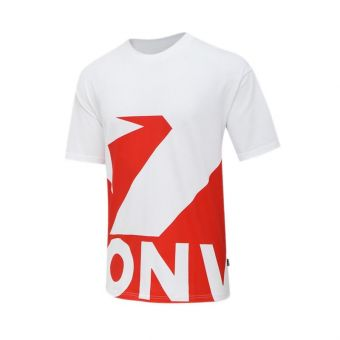 Converse Star Chevron Remix Men's Tee - Red