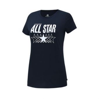 Converse Star Relaxed Women's Tee - Black