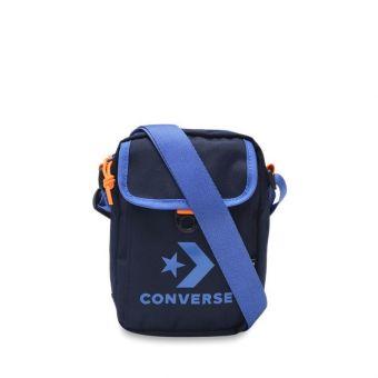 Converse Unisex Cross Body 2 Bag - Obsidian/Ozone Blue/Orange
