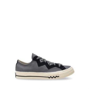 Converse Chuck 70 Leather And Chevron Women's Shoes - Mason