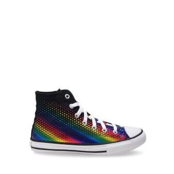 Converse Chuck Taylor All Star Kaleidoscope Girl's Shoes - Black