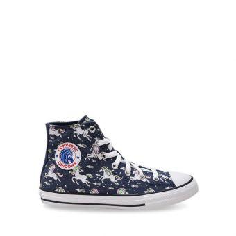 Converse Chuck Taylor All Star Unicorns Boy's Shoes - Navy