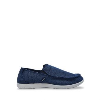 Crocs Santa Cruz Downtime Men's Slip On - Navy/Pwh