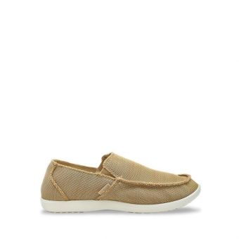 Crocs Santa Cruz Downtime Men's Slip On - Tan/Tan