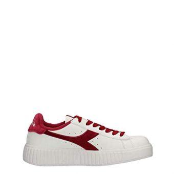 Diadora Game Step Smooth Women's Sneakers Shoes - White