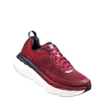 Hoka One One Bondi 6 Men's Running Shoes - Red