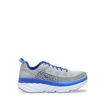 Hoka One One BONDI 6 Wide Men's Running Shoes - Vapor Blue/FGrey