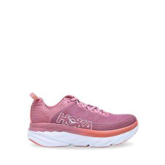 Hoka One One BONDI 6 Women's Running Shoes - Heather Rose/Lantana