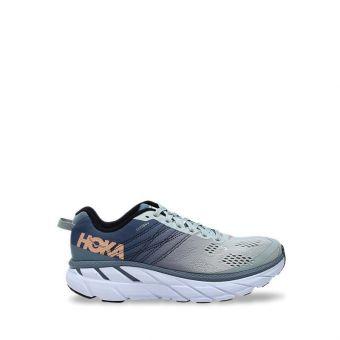 Hoka One One Clifton 6 Women's Running Shoes - Lead/Sea Foam
