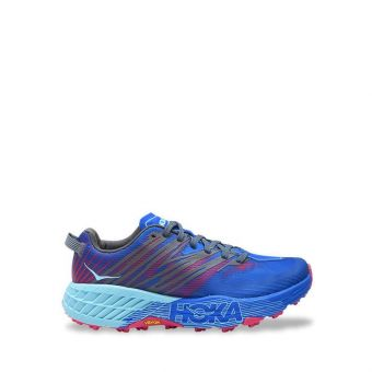 Hoka One One Speedgoat 4 Women's Trail Running Shoes - Imperial Blue