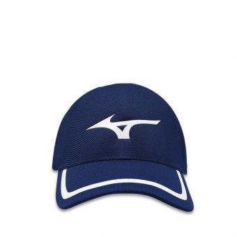 Mizuno One-Touch Seamless Unisex Cap - Deep Navy