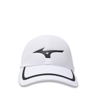 Mizuno One-Touch Seamless Unisex Cap - White