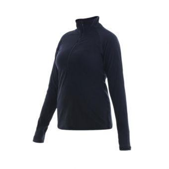New Balance Transform Half Zip Women's Long Sleeve Jacket - Black