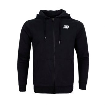 New Balance Essential Stacked Logo Women's Hoodie - Black