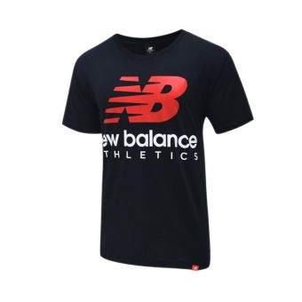 New balance Essentials Icon Boston Stack Men's Tee - Black