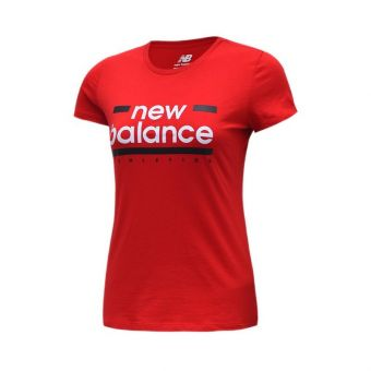 New Balance Athletics Women's Tee - Red
