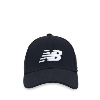 New Balance Team Logo Unisex Caps - Black White