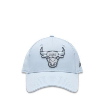 New Era Chicago Bulls Camo 9FORTY Boy's Cap - Grey