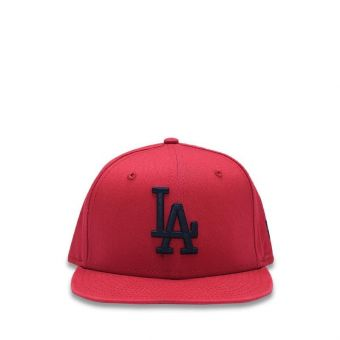 New Era Los Angeles Dodgers Essential Red 9FIFTY Boy's Cap - Dark Red