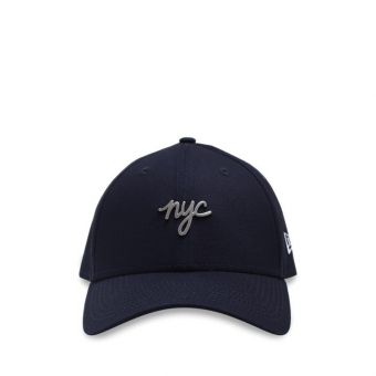 New Era NYC Metal Badge 9FORTY Men's Cap - Navy