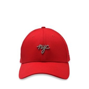 New Era NYC Metal Badge 9FORTY Men's Cap - Red