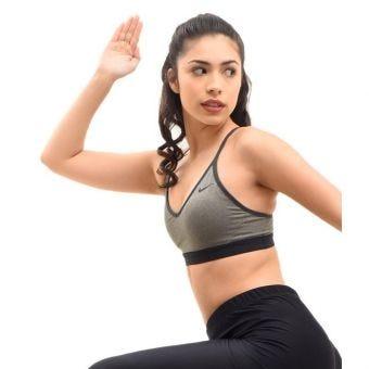 Nike Indy Women's Light-Support Sports Bra - Grey