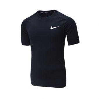 Nike Top Tights Short Sleeve Men's - Black